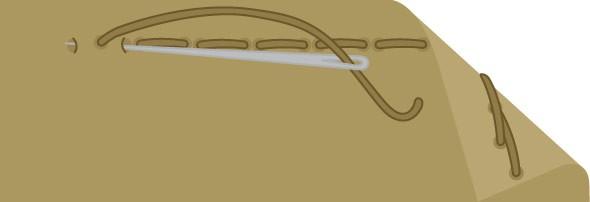 Bild vom Steppstich